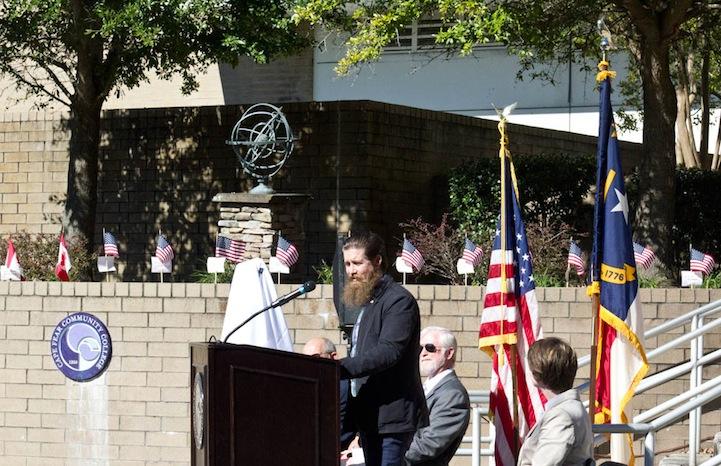 CFCC Veterans Day Ceremony 2015